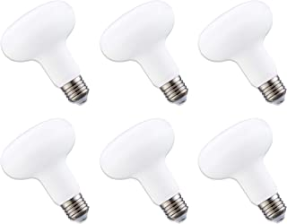 6-Pack LED BR30 Flood Light Bulbs,15w (150w Equivalent),5000K(Daylight),Medium Based (E26),1350 Lumens,Non Dimmable,AC120V,120 Degree Beam Angle,Indoor/Outdoor 25000 Hrs For Use In Home. And More