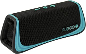 FUGOO Sport 2.0 - Portable Bluetooth Speaker Waterproof for Outdoor/Indoor Use - Wireless Stereo Pairing, Rich Loud Sound ...