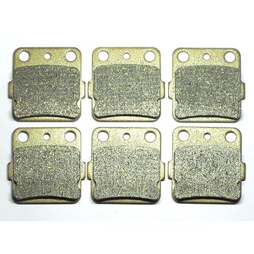 master chen front rear brake pads brakes for honda trx 400ex 400 ex fa084fr  atv mc0063