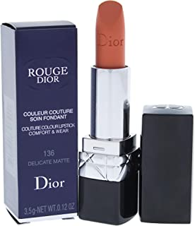 Christian Dior Rouge Couture Colour Comfort & Wear Lipstick - 136 Delicate Matte