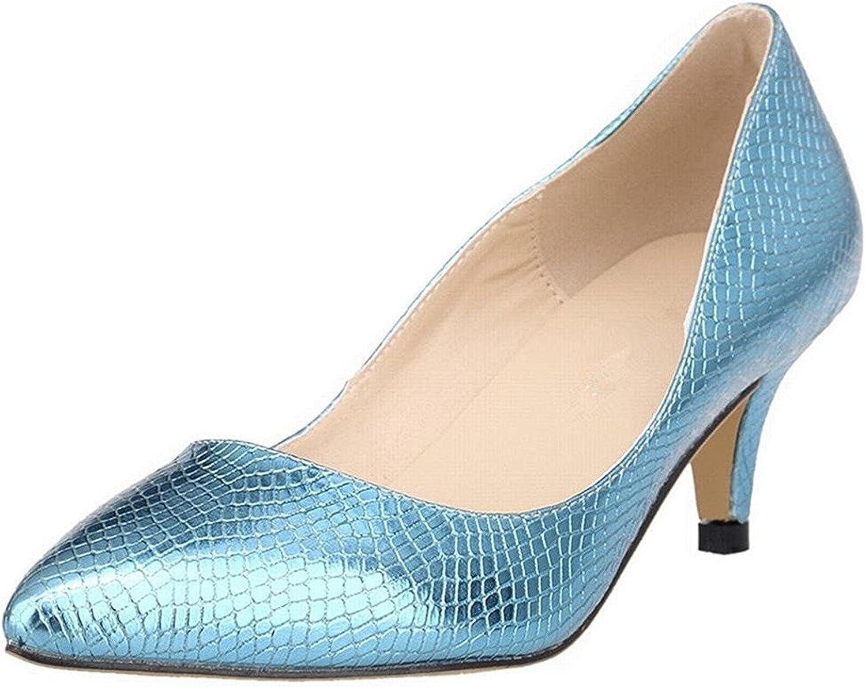 Sellwend Women's Slender Kitten Heels Pointed Toe Pumps Court shoes Active Demand