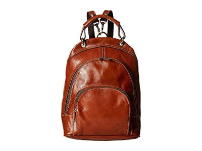 Patricia Nash Alencon Top-Handle Small Backpack (Tan) Backpack Bags