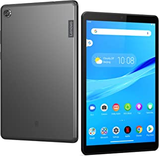 "Lenovo Tab M8 Tablet, 8"" HD Android Tablet, Quad-Core Processor, 2GHz, 32GB Storage, Full Metal Cover, Long Battery Life, ..."