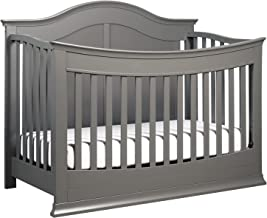 DaVinci Meadow 4-in-1 Convertible Crib with Toddler Bed Conversion Kit in Slate   Greenguard Gold Certified