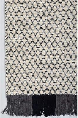 Rugsmith Seneca Area Rug, Gray, Wool, Gray, 3' x 5'