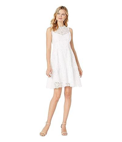 Nanette Lepore Flower Child Dress (White) Women