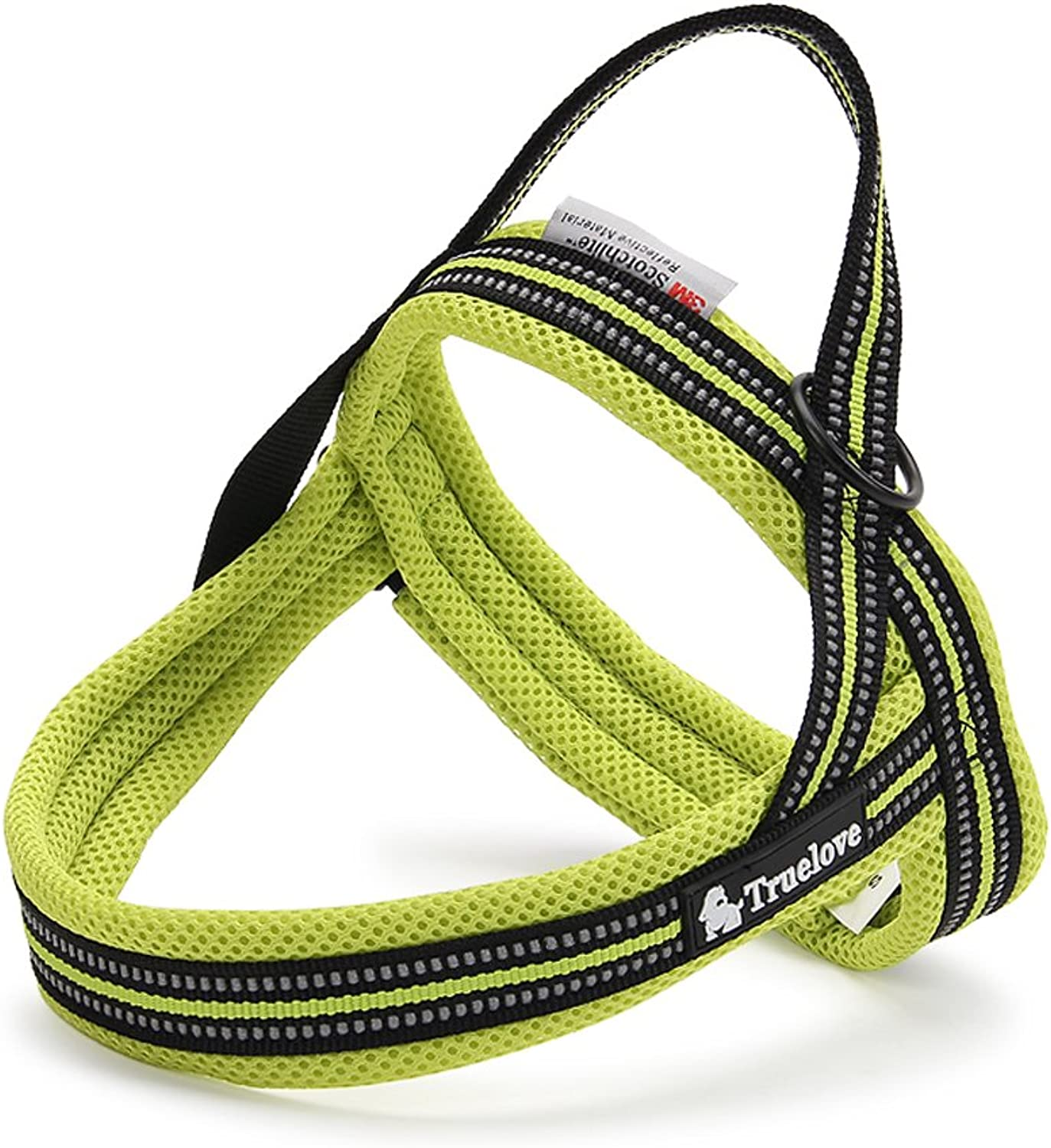 Fashion Shop Dog Harness Vest Cool Comfort Nylon for dogs Small Medium Large Girth, 3M Reflective Outdoor Adventure Pet Vest with Padded. (XS, Green)