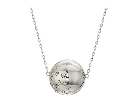 HOUSE OF HARLOW 1960 Single Mod Pendant Necklace, Silver