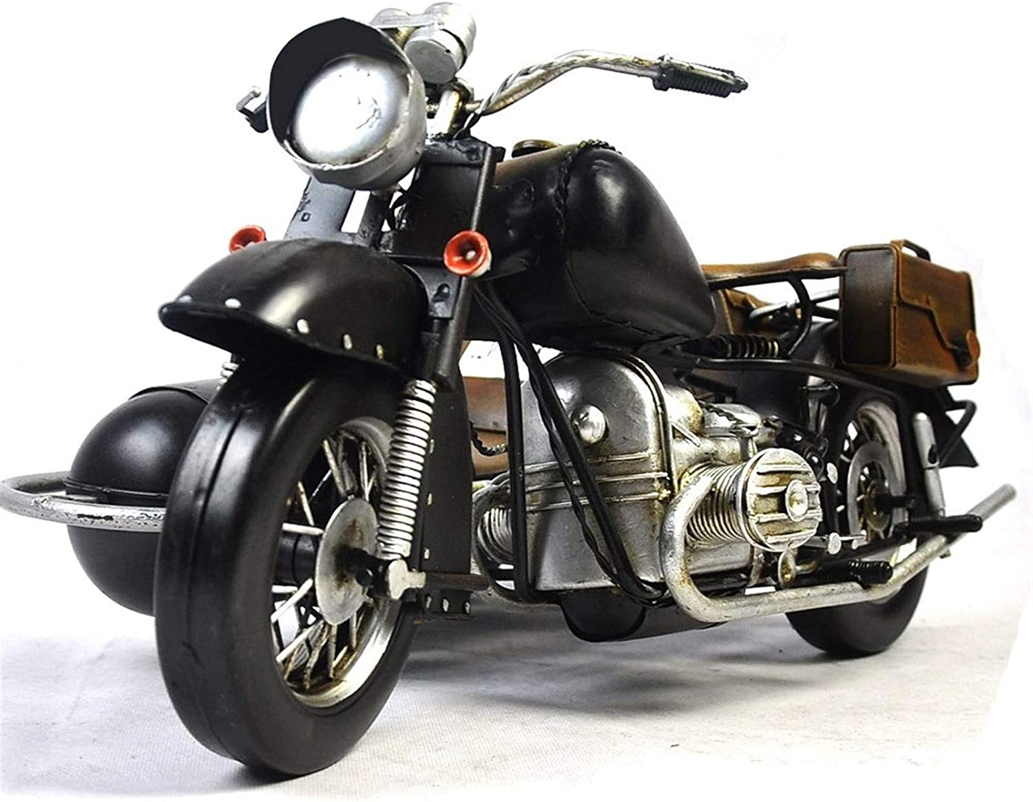 CLNAONG Motorcycle Model Metal Crafts Car Tampa Mall Free shipping anywhere in the nation Wrought Retro Mo Iron