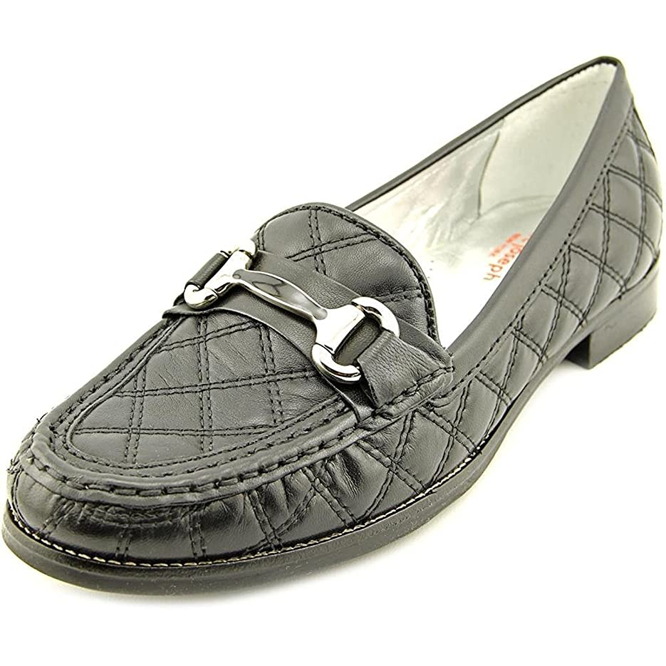 神学校に対処する形成[MARC JOSEPH NEW YORK] Madison Quilted Women's Quilted Loafers [並行輸入品]