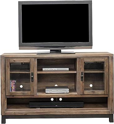 Amazon.com: Mesa de sofá - Mesa consola de entretenimiento ...