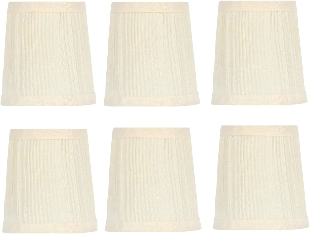 Upgradelights 4 Inch List price Pleated Retro i Drum Chandelier Max 71% OFF Shades Lamp