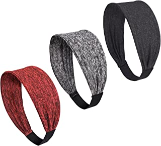 icyzone Sports Headbands for Women - Highly Absorbent...