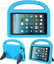 """Kids Case for All-New Fire 7 2019/2017 - TIRIN Light Weight Shock Proof Handle Kid–Proof Cover Kids Case for Amazon Fire 7 Tablet (9th/ 7th/ 5th Generation, 2019/2017/ 2015 Release)(7"""" Display), Blue"""