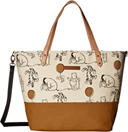 Winne the Pooh and Friends Downtown Tote