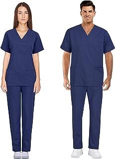 Proluxe Professional Healthcare Scrub Suit Set - Top & Trouser - Unisex