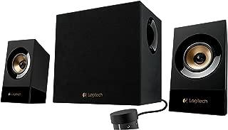 Logitech Z533 3 Piece 2.1 Multimedia Computer Speakers w/3.5mm Jack - 980-001053 (Renewed)