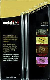 addi Click Interchangeable Knitting Needle Tips Standard Rocket (Long) Lace 5 inch (13cm) US 07 (4.5mm)