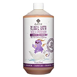Alaffia Everyday Shea Bubble Bath for Babies & Kids, Gentle for Sensitive to Very Dry Skin Types, Et