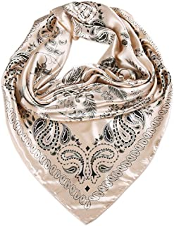 Best satin square scarf Reviews