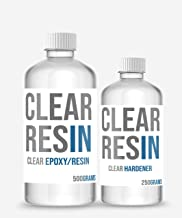 CLEAR RESIN Epoxy and Hardener (750 g Pack, Transparent)