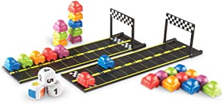 Learning Resources Mini Motor Math Activity Set, Homeschool, Includes Counting, Pattern, Addition and Subtraction Activiti...