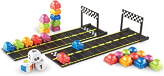 Learning Resources Mini Motor Math Activity Set - Includes Counting, Pattern, Addition and Subtraction Activities, Ages 3+