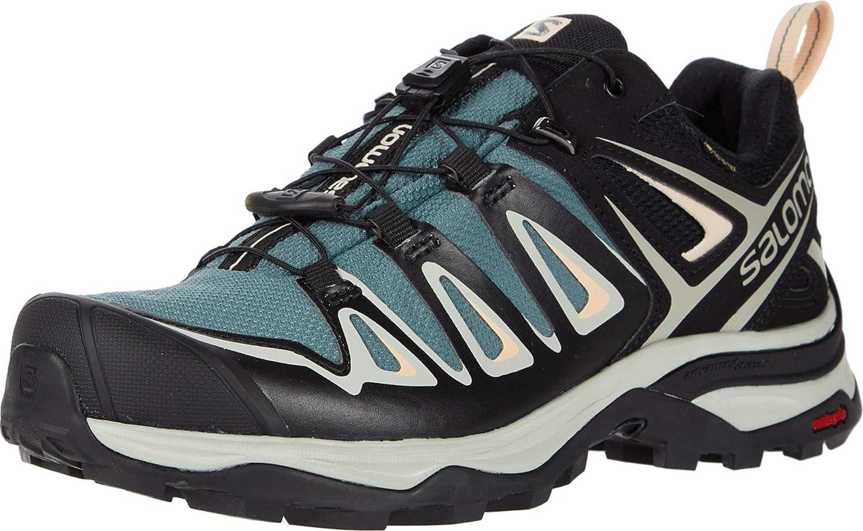 Pastor Metro Ojalá  Amazon.com | Salomon womens X Ultra 3 Gtx W Hiking, Balsam Green/Mineral  Gray/Bellini, 8.5 US | Hiking Shoes