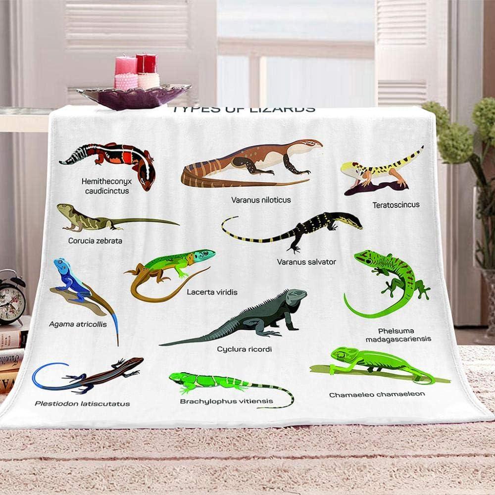 JYSZSD Baby Blanket Reptile Ultra-Cheap Deals Printed Super Soft Import Newborn B