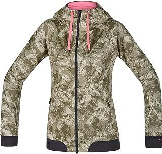 GORE BIKE WEAR Sudadera con capucha Soft Shell, Mujer, Mountainbike, GORE WINDSTOPPER, POWER-TRAIL LADY Hoody, Talla 40, Camuflaje, SWHFLP980005