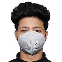 Motopack N95 CE & ISO Certified 5 Layer Disposable Face Mask with Nose Pin & Respirator For Men & Women (1 PC)