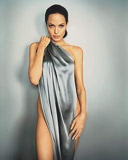 スポンサー広告 - 直輸入、大きな写真、アンジェリーナ・ジョリー、銀のシーツ、sp0633...