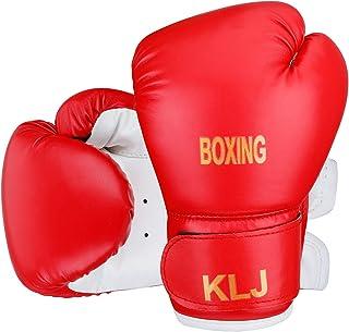 Kids Boxing Gloves, KLJ,6oz Boxing Gloves for Kids Boys Girls Junior Youth Toddlers, Training Gloves for Punching Bag, Kic...