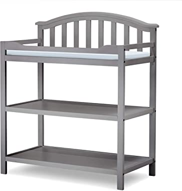 Sorelle Berkley Dressing Table, Gray