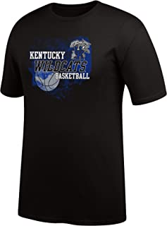 J America NCAA Men's Kentucky Wildcats Cotton Soft Tee, XX-Large, Black