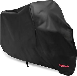 Capa de motocicleta, WDLHQC capa de motocicleta à prova d'água para proteção ao ar livre, Oxford durável e à prova de rasg...