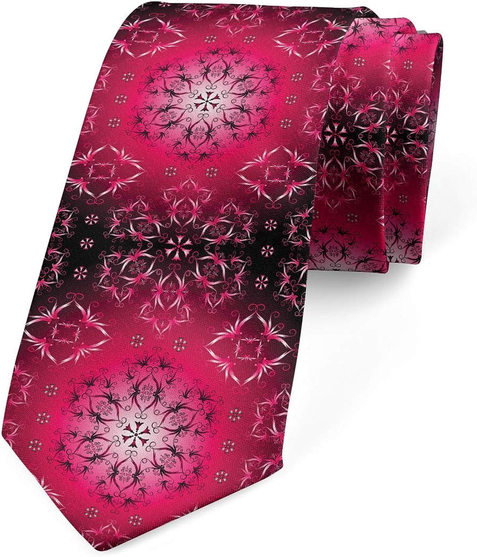 Ambesonne Necktie, Ethnic, Dress Tie, 3.7