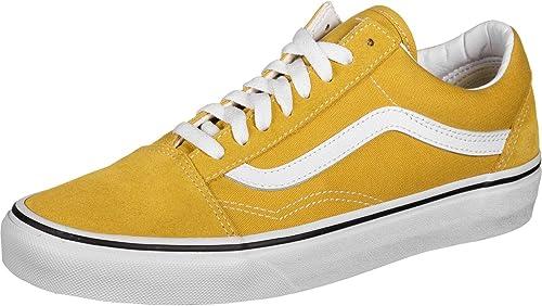 Vans - Basket Femme Old Skool Vn0a38g1vrq1 Yellow : Amazon.fr ...