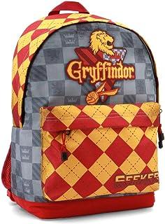 Harry Potter Quidditch Gryffindor Mochila tipo casual, 44 cm, 23 litros, Rojo