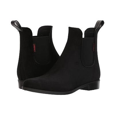 Chooka Vivien Velvet Chelsea Boot (Black) Women