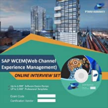 SAP WCEM(Web Channel Experience Management) Complete Unique Collection Interview Video Training Solution Set (DVD)