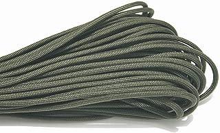 Paracord 550cuerda para paracaídas cordón cuerda mil Spec tipo III, 7hebras, 30,48m 31m de cuerda de escalada Camping supervivencia equipo escalada