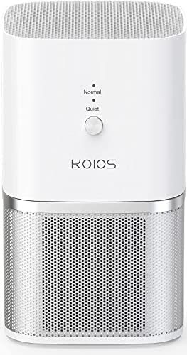 popular KOIOS Air sale Purifier, Small Air Purifiers with True HEPA Filter, Air 2021 Cleaner Bedroom Home Kitchen Office, Remove Smoke Dust Pollen Pet Dander, Protable Odor Eliminator, 219ft², No Ozone online sale