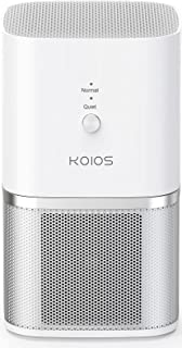 KOIOS Air Purifier, Desktop Air Filtration with True HEPA Filter, Compact Home Air Cleaner for Rooms and Offices,Removing ...