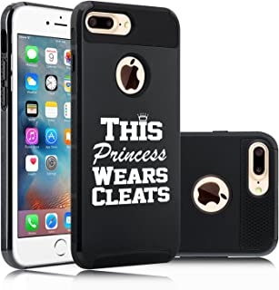 For Apple iPod Touch 5th 6th Shockproof Hard Case Princess Wears Boots Cowgirl