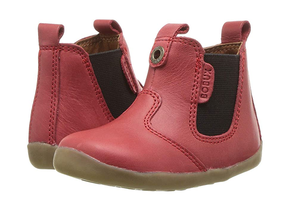 Bobux Kids Step Up Jodphur Boot (Infant/Toddler) (Red 1) Kids Shoes