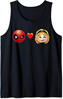 Marvel Spider-Man Love Hearts Emoji Débardeur
