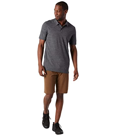 Smartwool Merino Sport 150 Polo (Medium Gray Heather) Men