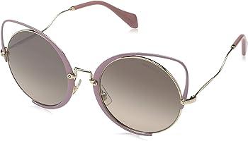 ميو ميو نظارة شمسية للنساء , عين القطة , متعدد الالوان