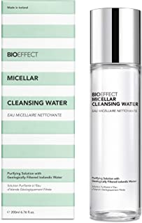 BIOEFFECT Micellar Cleansing Water, Make-up Remover and Hydrating Facial Cleanser of Icelandic Geo-Thermal Mineral Lava Wa...